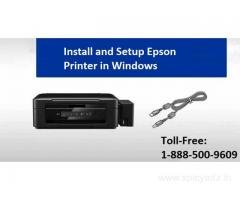 Install and Setup Epson Printer in Windows | +1-888-500-9609
