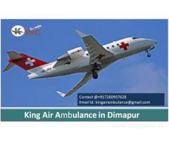 Best King Air Ambulance services in Dimapur