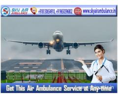 Pick the Most Excellent Air Ambulance from Varanasi at the Lowest Cost