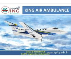 Get Best Air Ambulance services in Nagpur by king