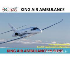 Get Quick and Fast Air Ambulance from Pune-King