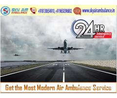 Book the Most Trustful Air Ambulance in Raipur