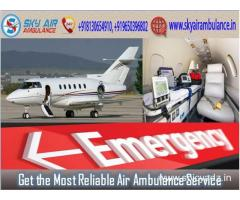 Choose Air Ambulance from Bhopal with Modern Medical System
