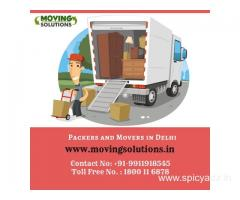 Get Free Quotes of Top 3 Packers and Movers in Delhi