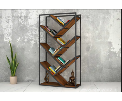 Amazing Sale!!! Get Modern Book Rack Online at 55% OFF