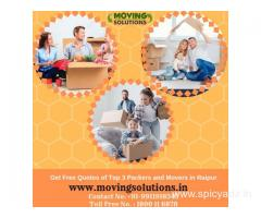 Get Free Quotes of Top 3 Packers and Movers in