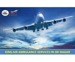 Hire at Low Cost Air Ambulance Services in Sri Nagar by King