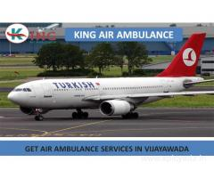 The Most Affordable Air Ambulance Service in Vijayawada by King