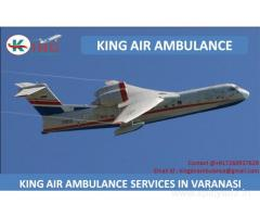 Best and Reliable Air Ambulance Services in Varanasi by King