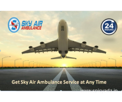 Relocates Your Patient Comfortably from Kochi by sky Air Ambulance