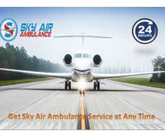 Relocate your patient by Sky Air Ambulance in Rajkot