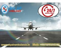 Rent Air Ambulance from Guwahati with the Unique Medical Facility