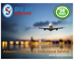 Take Sky Air Ambulance from Goa for Emergency Transportation