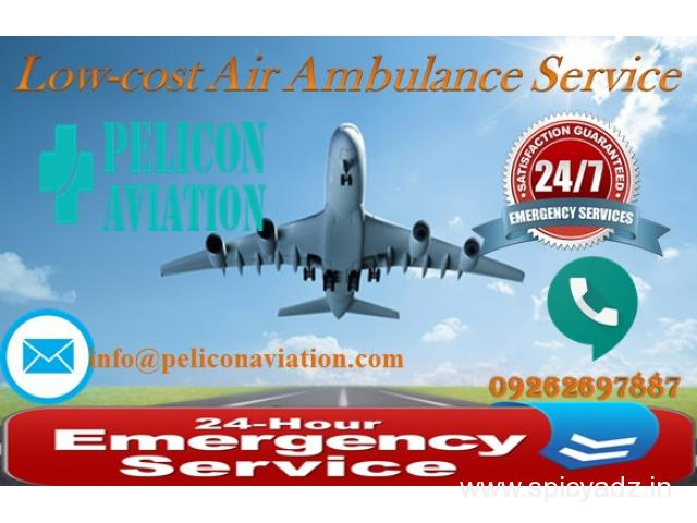 Get Most Trusted Air Ambulance in Kolkata with ICU Facility by Pelicon Aviation