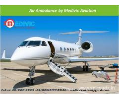 Pick Air or Train Ambulance Service for Ahmedabad by Medivic Aviation