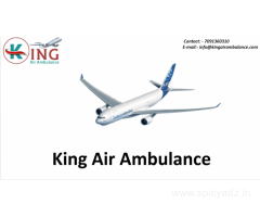 Get Credible Air Ambulance Service in Dibrugarh by King Ambulance