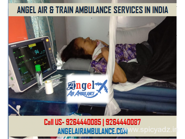 Supremacy out the High-Cost Services-Angel Air Ambulance Delhi