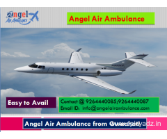 Patient Transportation by Angel Air and Train Ambulance Service in Guwahati