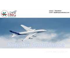 Fastest Air Ambulance Service in Jamshedpur by King Ambulance