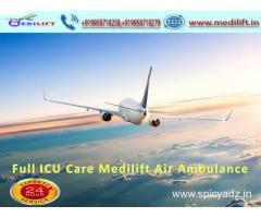 Medilift ICU Care Emergency Air Ambulance Service in Delhi