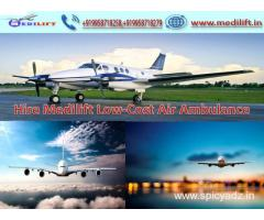 Best Medical Support Air Ambulance Service in Kolkata at Low Fare