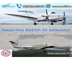 Get Quick and Safe Patient Transfer Air Ambulance Service in Ranchi