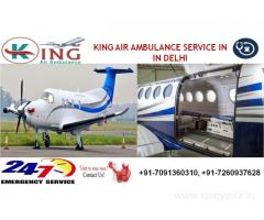 Hire Best and Low Fare Charter Air Ambulance Service in Delhi, India