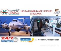 King Air and Train Ambulance Services in Kolkata-ultimate solution to hire fast