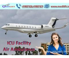 For Best Reason to Hire Medilift Air Ambulance in Delhi