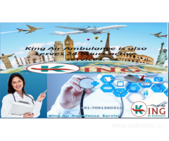King Air Ambulance Service in Ranchi - the Best for any critical Position