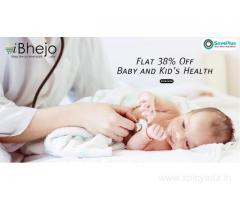 Flat 38% Off Baby and Kid's Health
