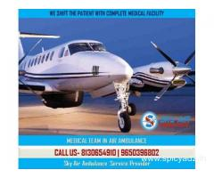 Choose sky Air Ambulance from Kanpur with Superb Medical Team