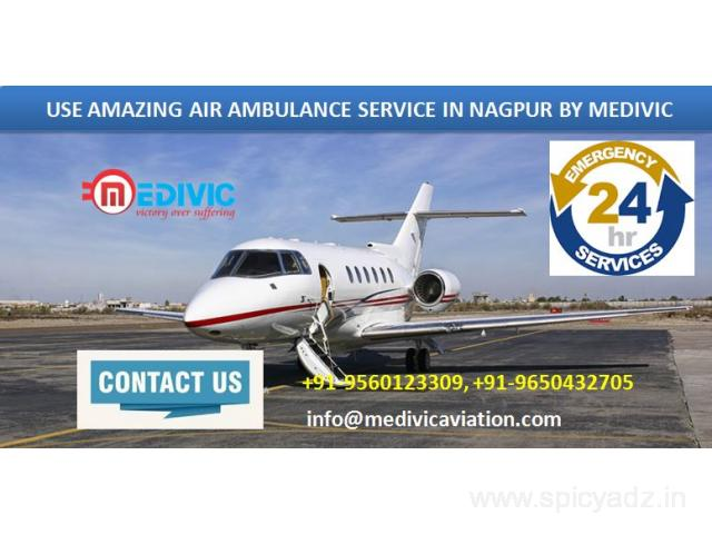 Select Emergency Air Ambulance Service in Nagpur by Medivic