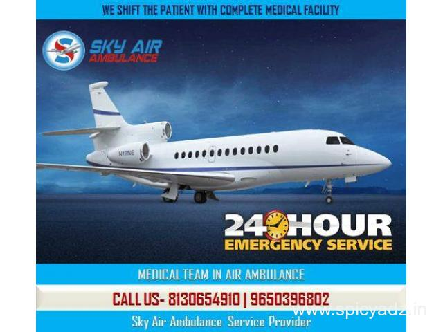 Get Sky Air ambulance Service from Mysore at Inexpensive Cost