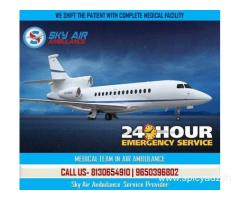Take Top-Notch Air Ambulance Service Rajkot