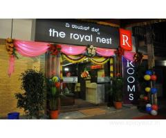 Get The Royal Nest in,Bangalore with Class Accommodation.