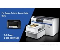 1-888-500-9609 Fix Epson Printer Error Code 0xf1