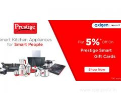Get 5% Off Prestige Smart Gift Cards