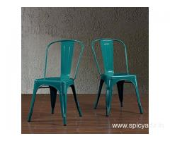 Buy metal chairs online at great discount - Wooden Street