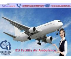 Take Reliable Air Ambulance Service in Silchar by Medilift