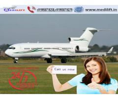 Take Top-Level and Comfy Air Ambulance Service in Jamshedpur