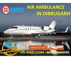 Use Life-Saving ICU Care Air Ambulance Service in Dibrugarh by Medivic