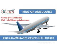 Get Top Level King Air Ambulance Services in Allahabad