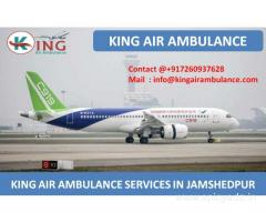 Get Best Air Ambulance Services in Jamshedpur by King