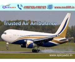 Get Classy and Low-Fare Air Ambulance Ranchi to Delhi by Medilift