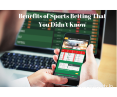 Best Benefits of Sports Betting That You Didn't Know.