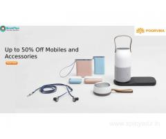Up to 50% Off Mobiles and Accessories