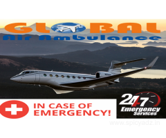 Special facilities to the critical patient from Global Air Ambulance