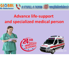 Advance life-support and specialized medical person from Global Air Ambulance