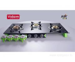Vidiem Gas Stove 3 Burner Price Online – Vidiem.in